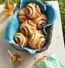 Rezept aus der Tante Fanny Kochwerkstatt: Franzbrötchen