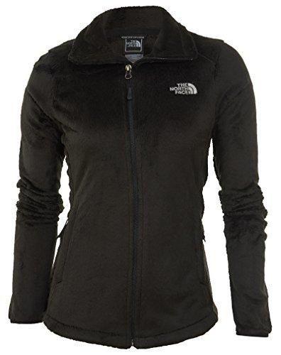 North Face Women's Osito 2 Classic Plush Fleece Jacket-Large-TNF Black