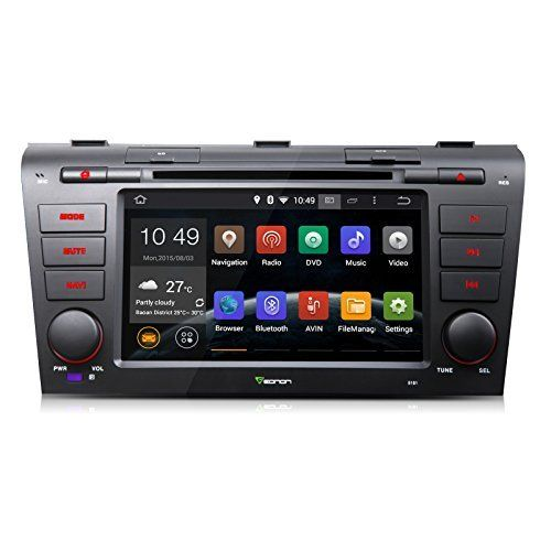 Special Offers - Eonon GA5151F Car 2 DIN Pure Android 4.4.4 Operation System Quad-Core Special for Mazda 3 2004-2009 7 Car DVD Player GPS SAT NAV Radio Stereo Bluetooth Touch Screen Steering wheel control - In stock & Free Shipping. You can save more money! Check It (July 19 2016 at 08:26PM)…