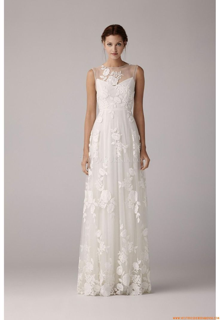 Vestido de novia Anna Kara Arya White 2014