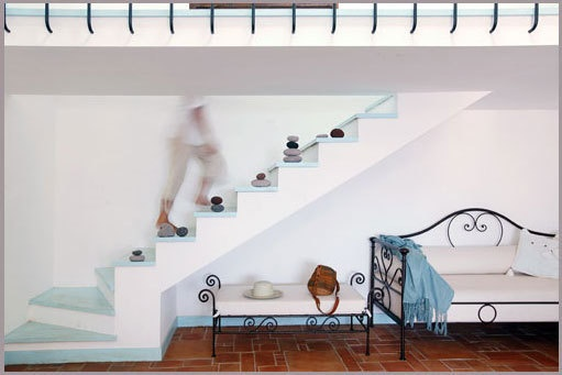A Little Italian Blue: Mediterranean Interiors