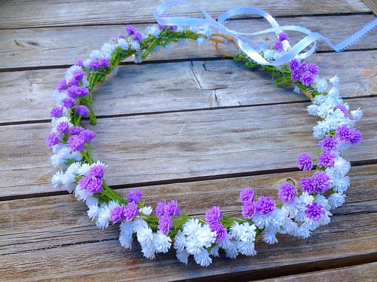 Baby's Breath Crown, Flower Girl Crown,Baby breath Crown, Girls Floral Crown, Baby's Breath Wreath, Woodland Crown, Baby's Breath Halo,etsy by BellasBloomStudio on Etsy
