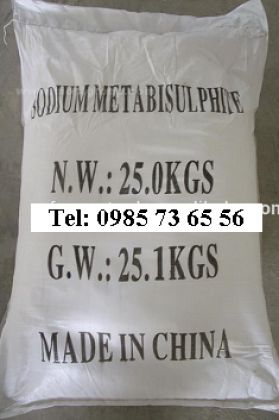 sodium metabisulphide, natri metabisunphit, NaHSO3