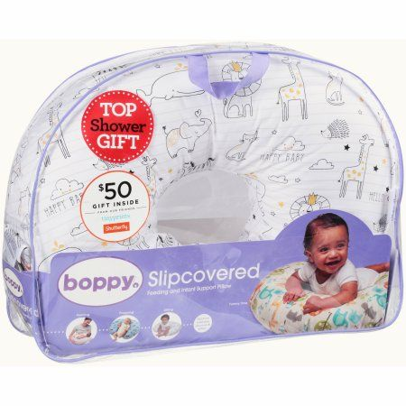 Boppy® Feeding and Infant Support Pillow, Black