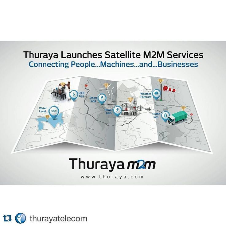 #Repost @thurayatelecom  Thuraya Launches M2M Service and First Terminal to Operate in North America Dubai 15 March 2016: Leading mobile satellite services operator Thuraya Telecommunications Company today launched a dedicated M2M service and terminal that is available across its extensive coverage area and for the first time over North America. The launch builds on the momentum of existing M2M solutions offered from Thurayas network of device and application development partners and is part…