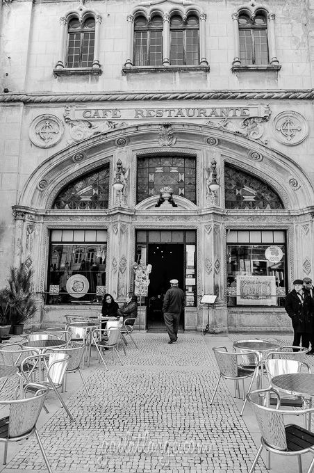 Coimbra In Black and White