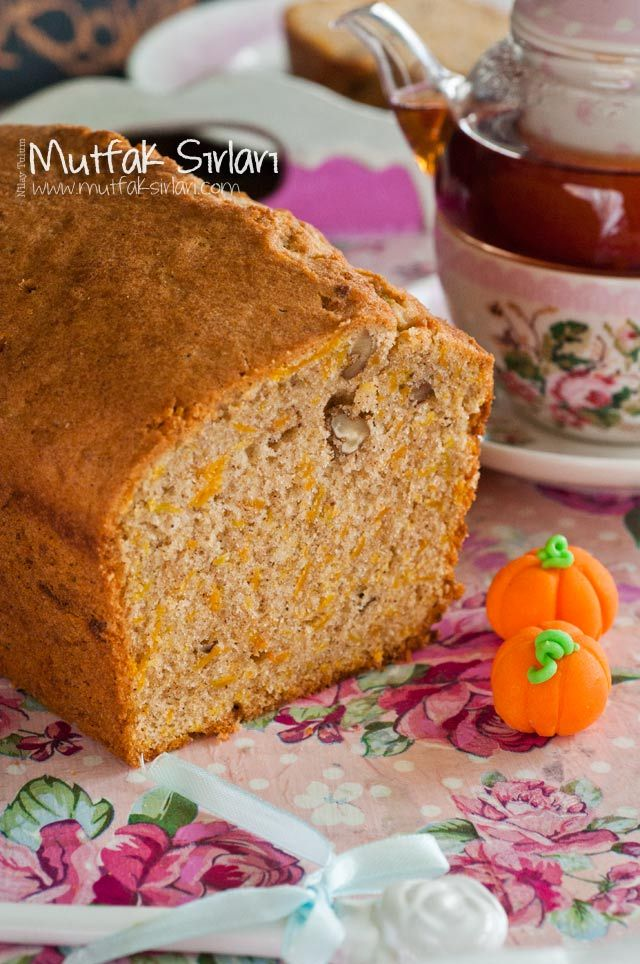 Balkabaklı Kek- Pumpkin Cake
