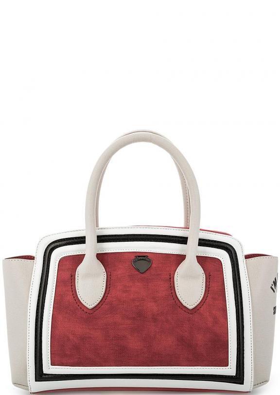 Сумка со съемным плечевым ремнем PE17DAQ02026-01 woman-red застегивается на молнию, купить в интернет-магазине. Цена: 6690