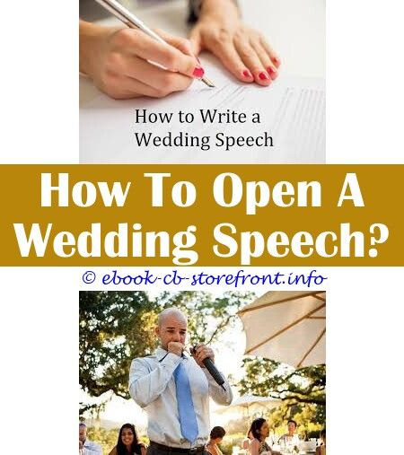 10 Valuable Cool Ideas: Wedding Speech Groom Thank You How