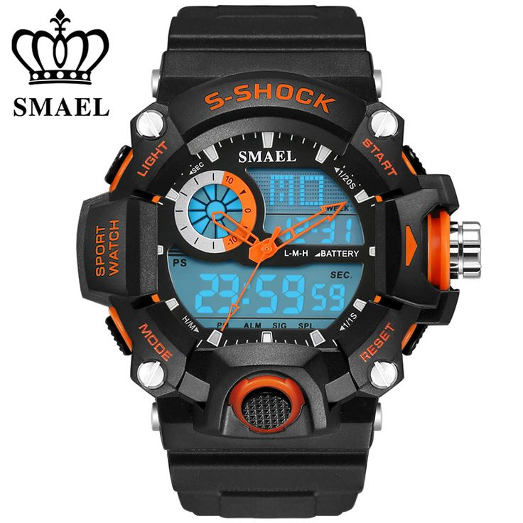 SMAEL Watches Men Military Army Mens Watch Reloj Led Digital Sports Wristwatch Male Gift Analog S Shock Automatic Watch WS1385♦️ B E S T Online Marketplace - SaleVenue ♦️👉🏿 http://www.salevenue.co.uk/products/smael-watches-men-military-army-mens-watch-reloj-led-digital-sports-wristwatch-male-gift-analog-s-shock-automatic-watch-ws1385/ US $11.89