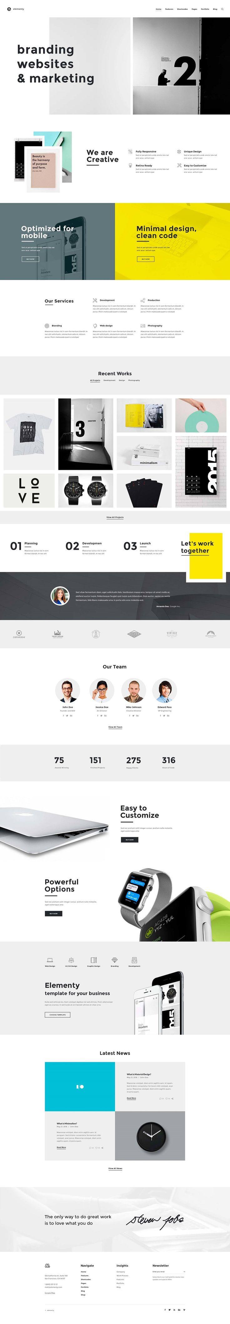 Creative Web Themes #2016 #WEB #DESIGN