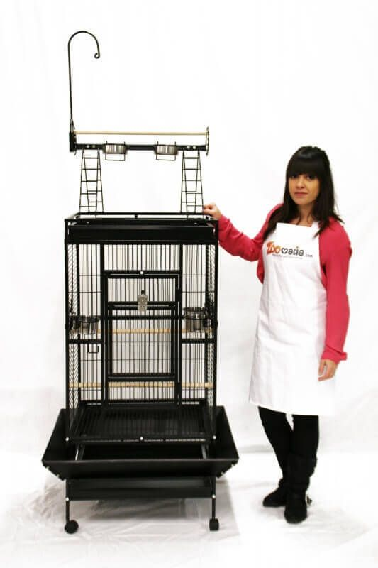 Cage ZOLIA YOUYOU pour perroquet  moyen et grande perruche_7