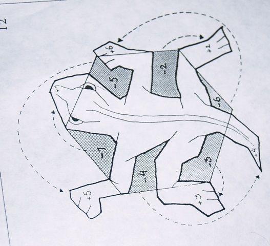 Escher tessellation