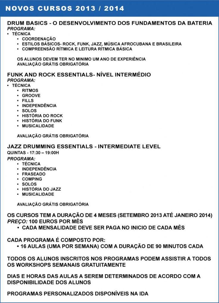 drummermcl:   NEW-CLASSES-2013-2014 INTERNATIONAL  DRUM  ACADEMY WWW.IDRUMA.COM