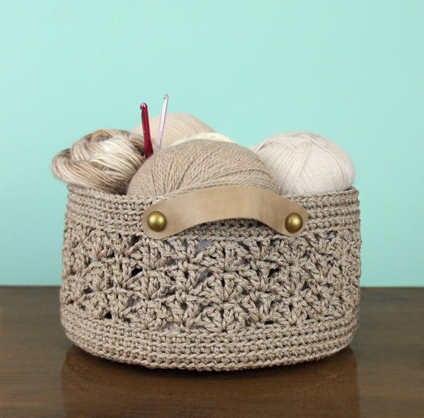 #Crochet basket pattern for sale from @gleefulthings