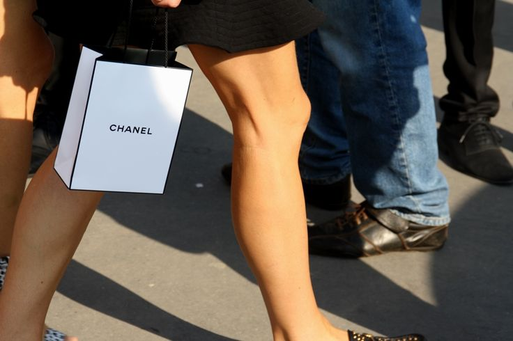 Chanel at Chanel. Paris Fashion Week Streetstyle, by Lois Spencer-Tracey of Bunnipunch