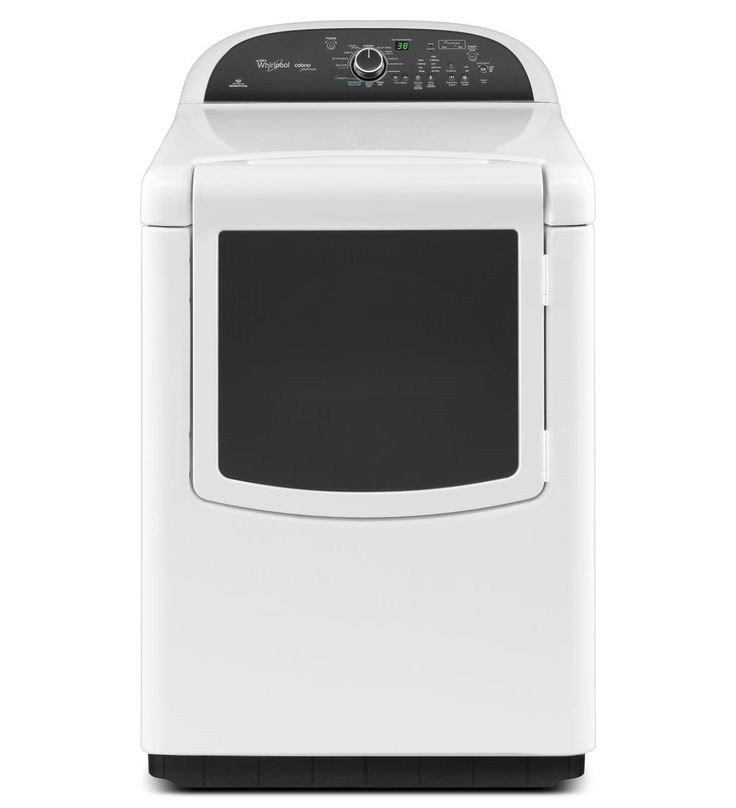 WED8500, Whirlpool® Cabrio® Platinum 7.6 cu. ft. HE Dryer with Enhanced Touch Up Steam Cycle - consider upgrading to this dryer