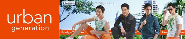 Alden Richards Urban Generation Trendy all the time
