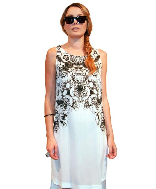 Mirage Flower Dress from Something Else $119