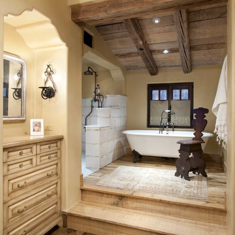 431 best images about italian style decor on pinterest Rustic country style bathrooms