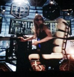 Emily Kinney as Brie Larvan 'Bug-Eyed Bandit' in The Flash