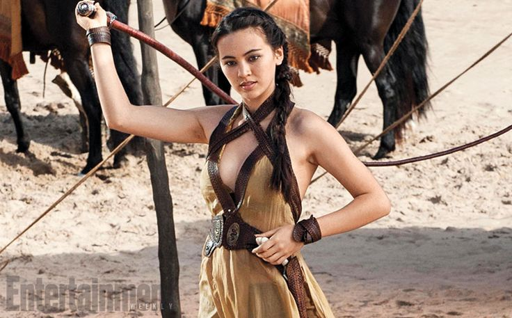 It's the first official photos of the Sand Snakes! Game of Thrones season 5 introduces a trio of deadly young women, all half-sisters from Dorne with the same powerful father (last season's philandering, doomed Prince Oberyn Martell). What do they want? Revenge, of course!