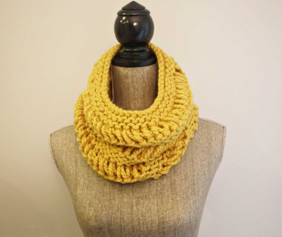 the Dianne cowl / citron by freedom knits to support the work @Compassion International