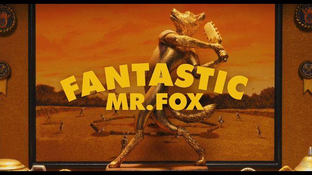 Fantastic Mr. Fox movie trailer title