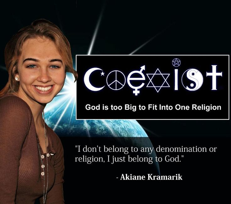 Akiane Kramarik | Akiane Kramarik - God  This explains my views soooo much better than I can on my own.
