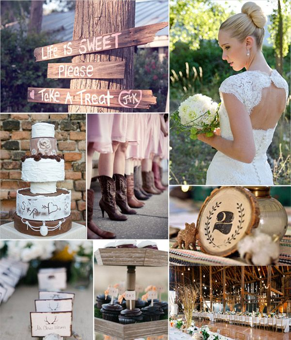 Rock Your Day with Rustic Vintage Wedding Ideas   http://www.vponsalewedding.co.uk/rock-your-day-with-rustic-vintage-wedding-ideas/