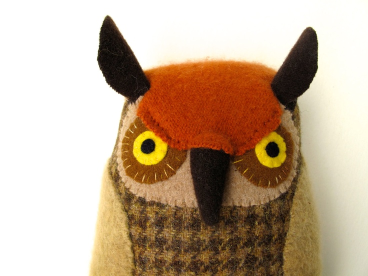 1000 images about softie owl on pinterest toys softie for Owl fish clothing