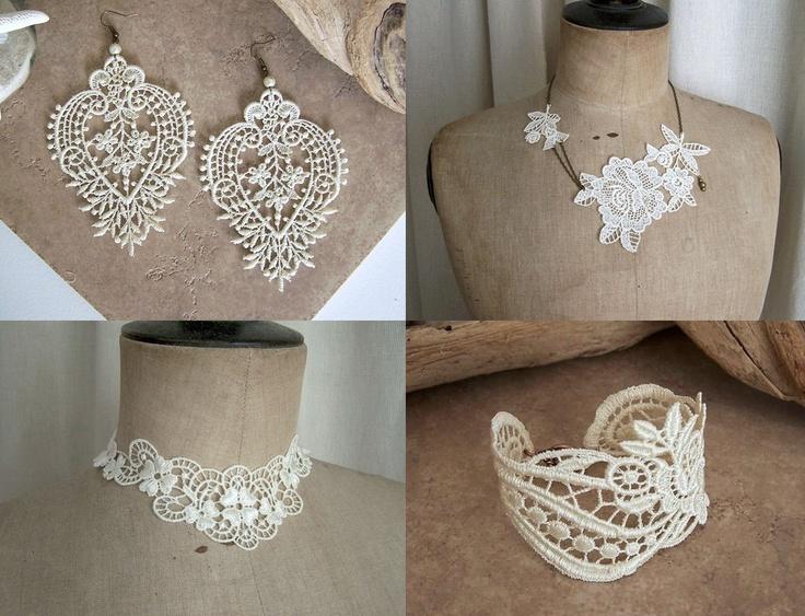 les bijoux en dentelle