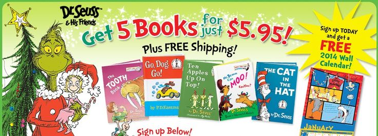 This Dr Seuss Book Set would make a great gift idea! Great addition to any child's reading library!