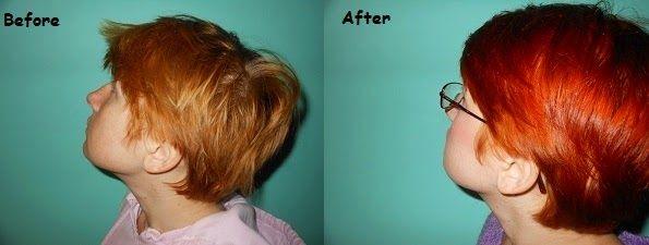 Little Lady Beauty Blog: L'Oreal Preference Mega Reds Light Intense Copper Hair Dye Review