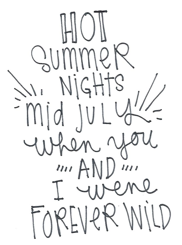 Typography, Lana Del Rey Lyrics.