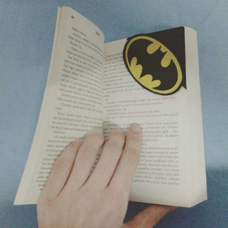 Dc comics The Batman Bookmark DIY Designer Me Kendinyap ... #dc #batman #bookmark #DIY #kendinyap #designer #me