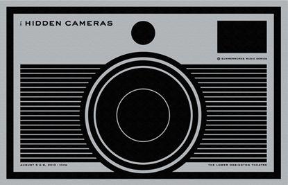 Hidden Camera Poster by Stephane Monnet.