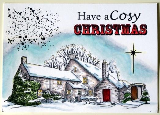 Christmas stamps from Sheena Douglass