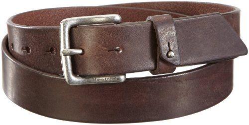 Marc O'Polo - Cinturón para hombre, talla 105 cm, color marrón (dark chocolate 795)
