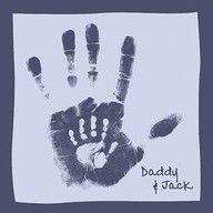 father-child handprintsHands Prints, Mothers Day, Cute Ideas, Handprint Art, Fathers Day Gift, Hand Prints, Kids, White Ink, Crafts
