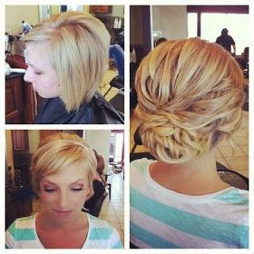 Girly Do Hairstyles: By Jenn: Prom Styles for Shorter Hair