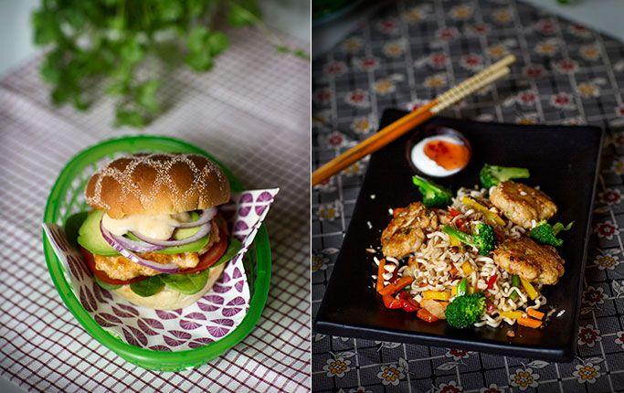 Vegetariska recept i en veckomeny följ kostråd – ät mindre kött