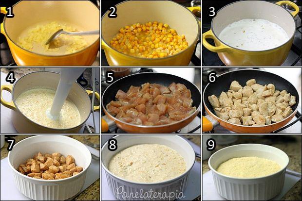 Adoro pratos únicos, desses que a gente faz só um arroz e uma saladinha para acompanhar e tudo certo! Esse é assim. Fácil, rápido e uma delícia! Para não gerar confusão, porque nas fotos a gente nã…