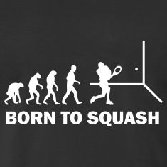 We were born to play #squash.