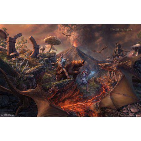 Elder Scrolls Online Battle Wall Poster 22.375 inch x 34 inch