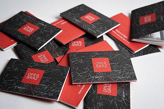Creative Packaging Designs Spielplan Oper Graz – corporate publishing by moodley brand identity