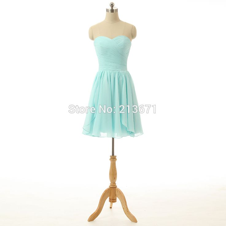 Custom Made Sweetheart Crisscross Short Homecoming Dresses 2017 Light Blue Graduation Evening Party Dress Fast Shipping S101204