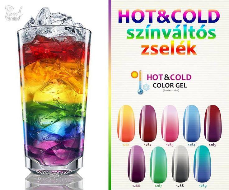 Új Hot & Cold színes zselék érkeztek 6 új színben!  Ide kattintsatok, ha kipróbálnátok: http://szepsegdepo.hu/gel-lakkok-szines-zselek/szines-zselek/szines-zselek-1261-1269-hotcold.html?page=1