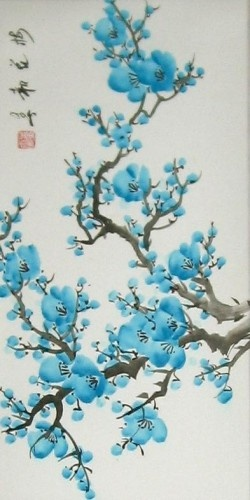 Chinese Oil Brush Painting