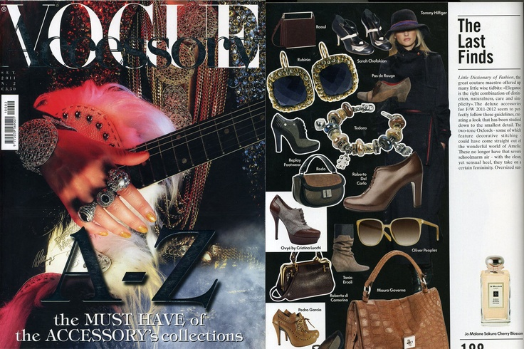 Vogue Accessory Sett 2011